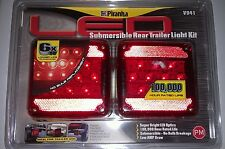 PIRANHA V941 LED REAR TRAILER LIGHT KIT 100,000 HOUR RATED LIFE SUBMERSIBLE NEW