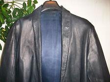 VESTE Taille 2 en cuir  vintage  jacket/JAS LEATHER