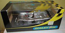 Scalextric 1/32 Cadillac LMP Silver/Black #1 Northstar Toshiba Slot Car