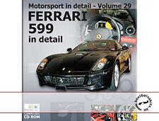 FERRARI 599 DETAIL REFERENCE PHOTO CD REVELL 1/24