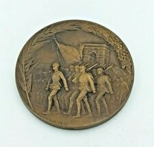 More details for ww1 1919 saviours of the liberty of the world united states bronze peace medal