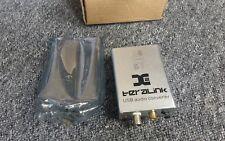 TeraLink X2 USB SPDIF Audio Convertitore BNC SUPPORTO 24Bit/96K Hz UK STOCK