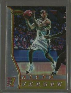 1996-97 Bowman's Best Allen Iverson Rc #R1 Philadelphia 76ers Rookie