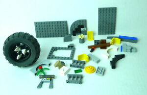 Lego parts bricks not counted various other Mixed Lot pieces Rubber Tire Group