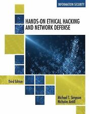 Hands-On Ethical Hacking and Network Defense by Simpson, Michael T., Antill, Ni
