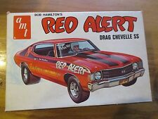 BOB HAMILTON'S RED ALERT CHEVELLE VINTAGE ORIGINAL AMT MODEL KIT Free ship!
