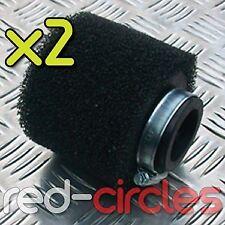 Negro 38mm-40mm Pit Bike Racing Filtro de aire de espuma 50cc 110cc 125cc pitbike