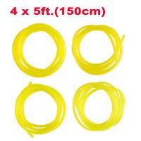 fits HUSQUARNA RYOBI ECT 1 metre length. 4mm ID x 8mm OD clear PVC fuel pipe