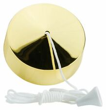 Varilight YPSB Pull Cord Switch 6A Polished Brass Effect