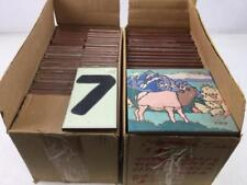 (2) Boxes Of Vintage Tiles, Southwestern Theme Lot 2392