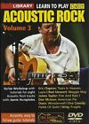 LEARN TO PLAY EASY ACOUSTIC ROCK VOLUME 3 GUITAR LICK LIBRARY DVD TUITIONAL