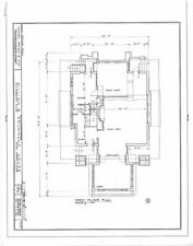 Prairie Style, Architect's own home, Sunroom, 4 bedrooms, PDF File