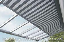 Unterdachbeschattung - Markise für Terrassendach Terrassenüberdachung  5x3,5m