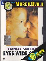 Dvd EYES WIDE SHUT di Kubrick con Tom Cruise Nicole Kidman ediz. Snapper nuovo