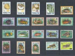 F226 Tuvalu / A Small Collection of Early & Modern Used