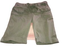 """Old Navy Womens Army Green Cargo Bermuda Shorts  ``VERY NICE""""Size 6"""