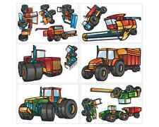 AU295 Traktor Name Autoaufkleber Sticker Babyaufkleber Aufkleber Möbelsticker