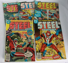 Steel The Indestructible Man Comic Books DC 1, 2, 3, 4, 5 (1978)