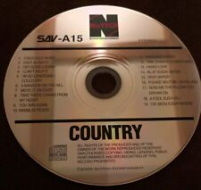 NuTech Country Karaoke Cdg Disc Various Artists 19 Songs