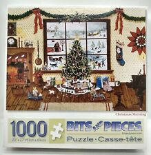 Christmas Morning 1000 Piece Jigsaw Puzzle Bits & Pieces No. 41099 (#817)