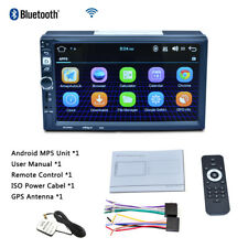 HD Capacitive Android MP5 iOS Câble Caméra enregistreur GPS Navigation Radio FM Wifi