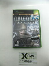 Pal version Microsoft Xbox Call of Duty Finest Hour