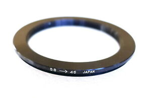 58-46mm Step-Down Ring Adapter - 58mm-46mm Stepping Ring - Japan - NEW