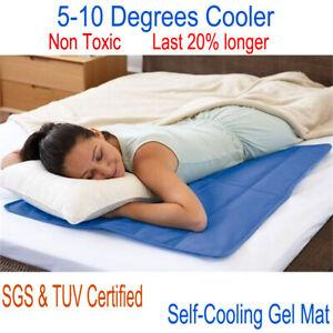 Cooling mat for pillow mat, leak-proof ,cool-gel, sofa cooling pad 60x100 cm NEW