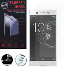 2 Films Verre Trempe Protecteur Protection pour Sony Xperia XA1 Ultra 6.0""