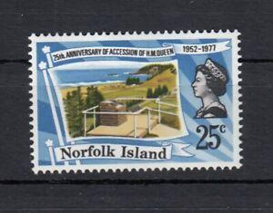 (85446) Norfolk Island MNH Queen Silver Wedding unmounted mint 1977