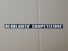COPPIA ADESIVI FIANCATINE FANTIC CON SCRITTE  REGOLARITA'  COMPETIZIONE