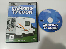 CAMPING TYCOON JEU DE PC ESPAGNOL CD-ROM MK INTERACTIVE