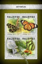 Maldives  2018    Butterflies S201806