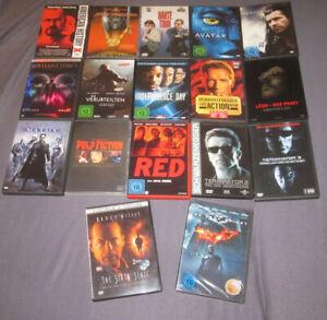 DVD-Sammlung mit 17 Filmen (u. a. Avatar, Léon: Der Profi: DC & The Dark Knight)