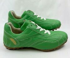 Henry & Magda Women's German Premium Leather Golf Shoes Green Size EUR 39 US 8