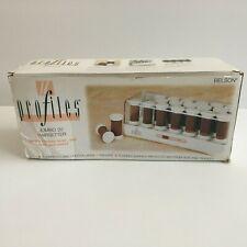 Vtg Hot Roller Set Belson Profiles Jumbo 20 Hairsetter 9329 Curlers Pagents Glam