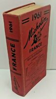 1961 Michelin France - Vintage Red Guide by Pneu Michelin - Multi-Lingual