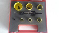 "STARRETT HOLE SAW KIT 604-731 ""NEW"" *FREE SHIPPING*"