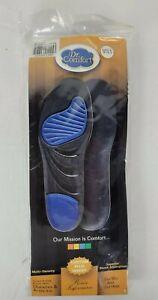 NIP Dr. Comfort Custom Plus Inserts Multi Density Gel Met & Heel 10.5 M