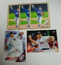 5 NATHAN EOVALDI Baseball card lot BOSTON RED SOX New York Yankees Topps