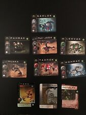 Bionicle Trading Card Game Lot Of 10 Cards LEGO Bionicle