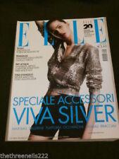 April Elle Magazines in Italian