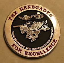 160th SOAR (Airborne) Night Stalkers The Renegades Army Challenge Coin