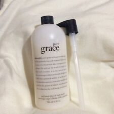 PHILOSOPHY PURE GRACE OLIVE OIL SCRUB  32 OZ SEAL WITH PUMP