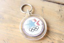 Vintage 1984 Olympics 1980 Olympic Committee Key Chain