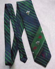 XVII Giochi del Commonwealth Cravatta Manchester 2002 da Uomo Cravatta Blu Navy Verde