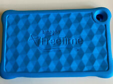 NEW Amazon Fire HD 8 Kids Tablet Soft Silicone Protective Cover Blue