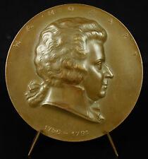 Medaille Wolfgang Amadeus Mozart Salzbourg music composer Arnold HARTIG medal