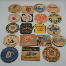Lot of 28 Beer Coaster Bar Mats from Europe