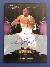 2010-11 Panini Black Box Chris Bosh Auto Autograph Crusade /20